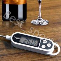 Digital-Nahrungsmittelthermometer Lange Sonde Elektronisches Kochen Thermometer Für Kuchen Suppe Fry Grill Fleisch für Küchenzubehör CYZ2786 100Pcs