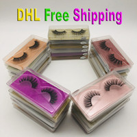 Cils de mink 3D Faux cils 30 Style Soft Natural Naturel 3D Mink Lashes Main Faux Cils Tils Full Strip Lash maquillage Faux Eyelash