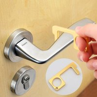 Elevator Button Contactless Door Open Tool Safety Door Handle Zinc Alloy Protection Isolation No-Touch Opener HHA1319