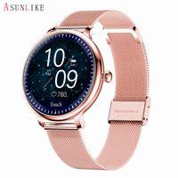 NY12 Frauen intelligente Uhren Physiologische Frauen Periode Smart-Prediction-Kleid Wrist Call Reminder Herzfrequenzmesser