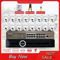 Sistemas JSMAX 1080P Wireless CCTV Sistema 2MP HD Outdoor Poe Câmera de Vídeo Security Kit com 4TB HDD