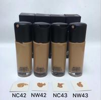 Stile caldo M Brand Makeup Foundation NC NW Buona qualità Press Bottiglia di vetro Concealer 35ml