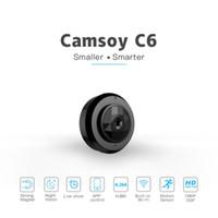 Mini caméras C6 HD 1080P WIFI Caméra Night Vision de la nuit Détection de mouvement Petite Cam Sécurité Accueil Sécurité DVR Caméscope Vidéo View Micro