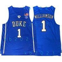 NCAA Zion 1 Williamson Джерси Герцоги Голубые дьяволы Колледж Стив 11 Nash Irving Lebron 23 Джеймс Кири Винс 15 Картер Баскетбол