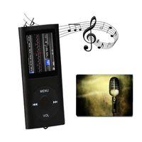 MP4 لاعبين مصغرة مشغل MP3 1.8 بوصة LCD Scren Stereo Music Media FM راديو AMV فيديو مدمج في 8/16 / 32GB Micro SD TF