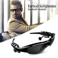 Melhor venda de moda óculos de sol Bluetooth 5.0 fone de ouvido headset x8s fones de ouvido inteligente óculos com microfone para condução / ciclismo