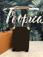 """Erkekler için Moda Bagaj Bagaj Yüksek Kalite Bavul Tekerlekler Dört Seyahat Yuvarlanan Çanta 20 """"Arabası Çanta Tasarımcısı Xnieo"""
