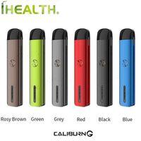Original UWELL Caliburn G Pod-System Kit 18W 690mAh eingebaute Batterie kommt mit 2 ml Caliburn G Patrone Unterstützung DTL / MTL vaping
