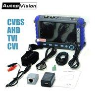 CCTV monitor da câmera ferramenta de teste Professional CCTV 5 polegadas display 8MP AHD TVI 8MP CVI CVBS CCTV Camera Tester Monitor de PTZ