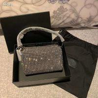 높은 품질 호보 디자이너 럭셔리 여성의 크리스탈 다이아몬드 핸드백 유명한 체인 어깨 가방의 크로스 바디 소호 가방 디스코 어깨 가방 여름