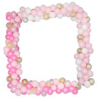 113Pcs Multicolor Balloons Arch Garlands Sets Confetti Latex Balloons Chain Floral Garland Wedding Birthday Party DIY Decoration