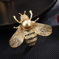 جودة عالية والمجوهرات بروش مكافحة فارغة يمكن تخصيص السيدات الكورية دبابيس دبابيس الملابس الاكسسوارات نحلة صغيرة الصدار
