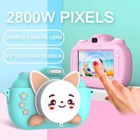 Kinder Kamera Touchscreen-2800W-Megapixel-SLR kleine Spielzeug können Bilder digital kleine tragbare Schüler nehmen mini