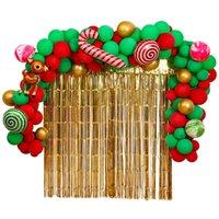 2020 rifornimenti di Natale Palloncini decorazione di Natale Balloon pellicola di alluminio di lattice Balloon Combinazione Disposizione Balloon Natale