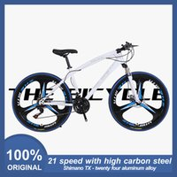 New Spot Mountainbike 26-Zoll-21-Gang drei Pole Aluminiumlegierung Cruiser Bikes Trekkingrad Jungen und Mädchen Jugend Radrenn