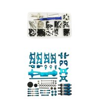 Ремонт RC автомобилей Винты Гайки Инструмент Set + Upgrade Kits Для WLtoys 1/14 144001