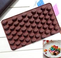 Nouvelle salle à manger de haute qualité haricots silicone Mini café moule chocolat bonbons moule main gâteau moule décoration