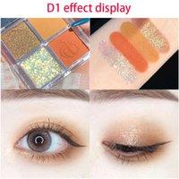 DIKALU 4Color Eyeshadow Palette Make up Palette Matte Shimmer pigmentato facile da indossare