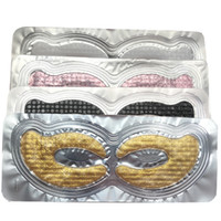 Colágeno Cristal Eye Mask Patches por olho Bolsas rugas olheiras Clarear Belas linhas profundas Hidratante Eye Pads
