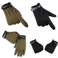 Men Women Climbing Waterproof Stretch Anti- Slip Mitten Glove