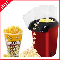 1200W elétrica Corn Popcorn Household automática Mini Air pipoca que faz a máquina DIY Corn presente das crianças 110V 220V