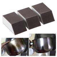 1 Adet Magic Kitchen Temizleme Fırçası Ev Sünger Bulaşık Havlu Kaldır Lekeleri Pas Fırça Silgi Mutfak Aracı