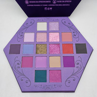 Новые Blood Lust Eye Shadow Palette 18 цветов Shimmer и матовая Eyeshadow Artistry Eyeshadow Palette Puple Cosmetic DHL