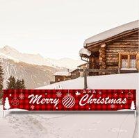 300CM * 50CM عيد ميلاد سعيد هالوين راية زينة عيد الميلاد للحصول على المنزل في الهواء الطلق مخزن راية العلم سحب أعلام راية