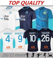 20 21 Olympique de Marseille Soccer jersey 2020 2021 Maillot...