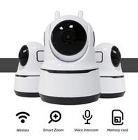 كاميرات IP كاميرا 1080 وعاء أمن الوطن لاسلكي للرؤية الليلية CCTV WIFI الطفل مراقب PTZ كاماراس دي vigilancia con 5076