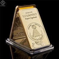 1776 Masonic Novus Ordo Seclorum Maçonaria símbolo Illuminati 24k Rare Replica 0,999 Gold Bullion Bar