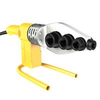 Heads 220V Electric Rohrschweißmaschine Heizung Werkzeugsatz für PE PPR PB Kunststoffrohr PPR Schweißen Hot-Melt-Maschine