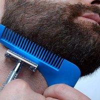 Estilos remodelado facial del pelo de la barba Herramientas- Plantilla BARBA TALLADORA peine para las plantilla Barba herramientas de modelado KKA8089