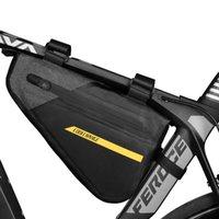 Рама велосипеда сумка треугольник сумка водонепроницаемой большая емкость MTB велосипед Top труба сумка Велоспорт Pannier велосипед аксессуары