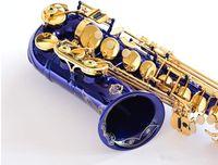 اليابان سوزوكي جديد الساكسفون E شقة ألتو جودة عالية الأزرق ألتو ساكسفون مع حالة المهنية آلات موسيقية