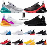 Nike Air Max 270 Grande taille nous 13 14 15 Airs Vapourmax Chaussures de course AirX Maxx Bred Triple Noir Blanc Aircushion Baskets femme Hommes Sport Chaussures Runner