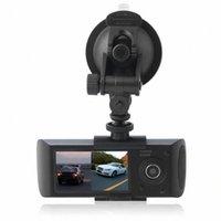 2.7Inch 16: 9 HD TFT LCD Araç Araç DVR Video Kaydedici Dash Cam G Sensör GPS Çift Len Kamera Kaydedici 140 ° Görüş Açısı S7EK #
