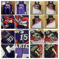 Vintage TorontoRapacesBAPE 93 VINCE 15 Carter Tracy 1 McGrady Mitchell Ness Stitchman Basketball Jersey