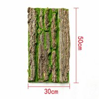 Natural Artificial Fake Bark Tree Moss Landscape Home Patio ...