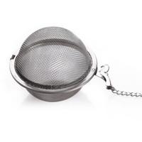 DHL FEDEX Meilleur Prix 200pcs / lot en acier inoxydable Théiere Infuser Sphère Passoire boule 5.5cm Envoi gratuit DWD1739