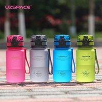 Garrafa Uzspace 350ml Sports Água Kid Adorável Eco-friendly plástico Leakproof alta qualidade Posto portátil My Drink Bottle BPA T8190627