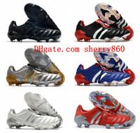 2021 Mens Soccer Shoes Predator 20+ Mutador Mania Tormentor FG Botas de Futebol Cleases Firment Treinadores ao ar livre