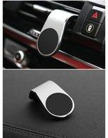 Tenedor de teléfono magnético de metal Mini ventilación clip Monte Imán Mobile Soporte móvil para iPhone XS Max Xiaomi Smartphones en coche