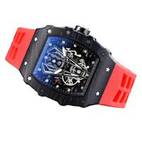 2020 Новые мужские повседневные часы Ричард Дерево Ричард многофункциональные часы календарь указатель кварцевые часы