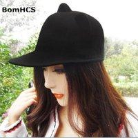 Stingy Brim Şapka Bomhcs Sevimli Kulak Ebeveyn Çocuk Kap Çocuk Şapka Kadın Sonbahar Kış Sıcak Fedoras Moda Yün benzeri