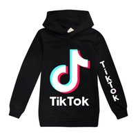 Tiktok Sweatshirt für Big Boy-Mädchen-Kleidung Herbst Winter Tik Tok Kinder beiläufige mit Kapuze Kid Sport Boutique Top 3-17 Jahr Drucken