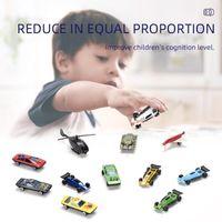 20 pcs mini liga de carro conjunto quente diecast liga de metal correndo veículo modelo engraçado crianças brinquedos pequeno estilo menino presente de natal presentes