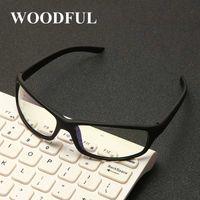 Солнцезащитные очки спорт анти синий свет очки кадр мужчин женщин бренд дизайнер квадратных компьютерных игр очки черный очки UV400 Oculos