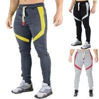 Pantolon Pantalones Erkek Spor New'in 19ss Koşucular Atletik GYM Spor Çalışma Out Erkek