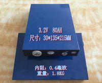 80ah 3.2v Lifepo4 Battery High Capacity Cell for 12v Pack Solar Energy Inverter Electric Golf Carts